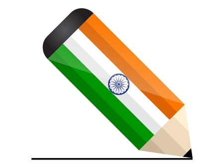 indian pencil Vector