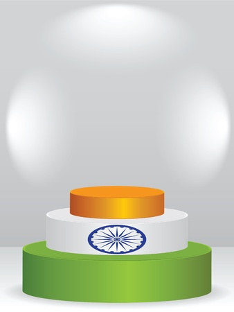 indian podium  Vector