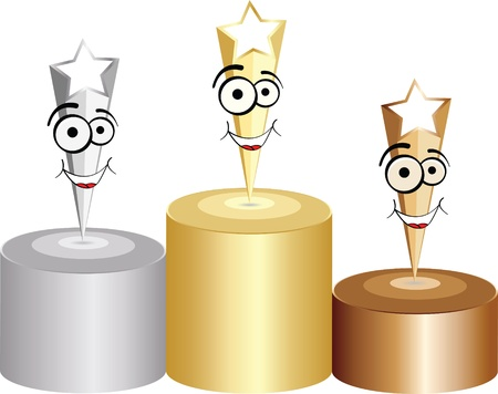 award winning: podium