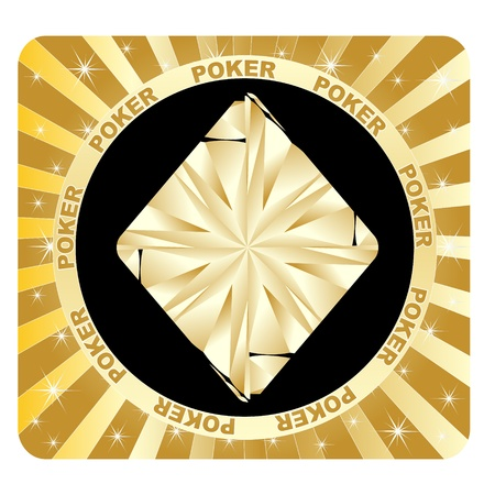 poker elements rhombus Stock Vector - 10806019