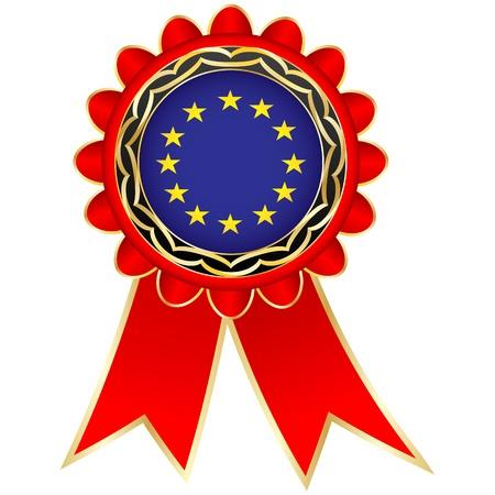 european medal Vector