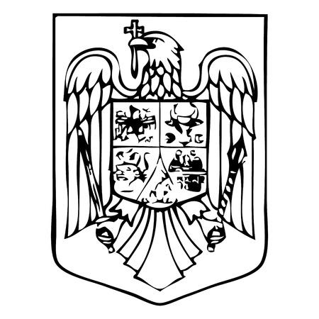 romania: romanian emblem