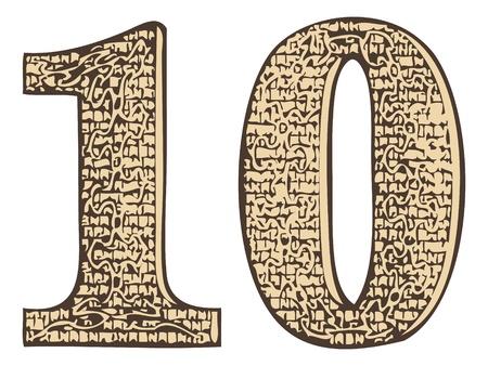 number 10: ten number