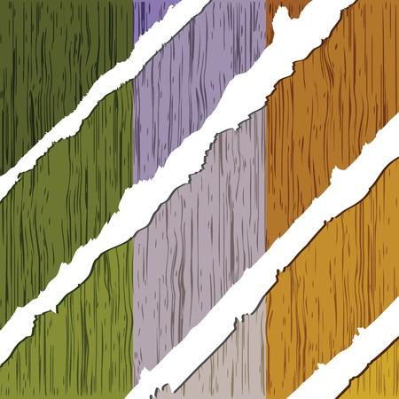 ireland flag: ireland flag wooden texture Illustration