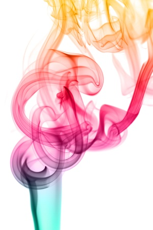 abstract background colorful smoke Imagens - 10904346