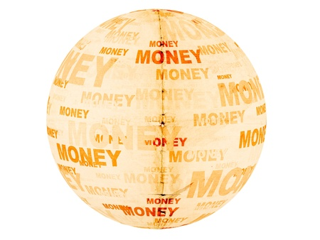 money ball old paper photo