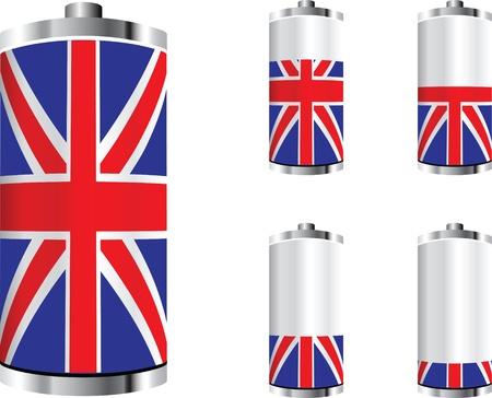 united kingdom battery  Vector