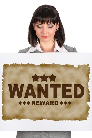 wanted banner Stock Photo - 11531366