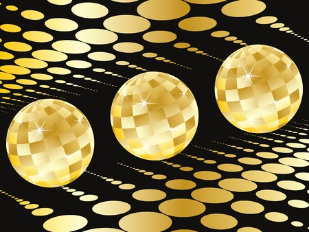 Disco background Stock Vector - 11531342