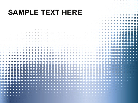 halftone: dots background  Illustration