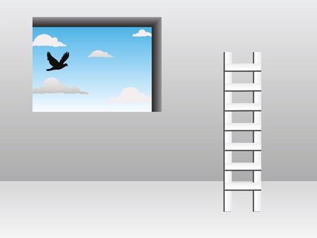 stepladder: Ladder concept