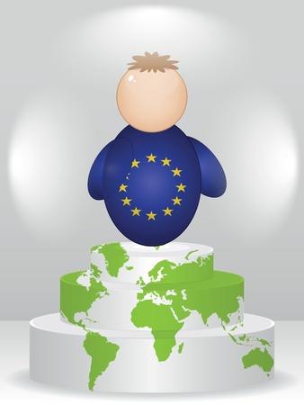 buddy: european buddy on podium
