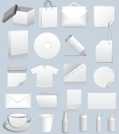 shoppingbag: mock-up presentation Illustration
