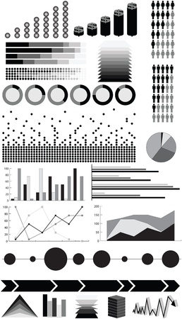 infographic elements Stock Vector - 13885803