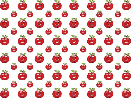 apple in love background Vector