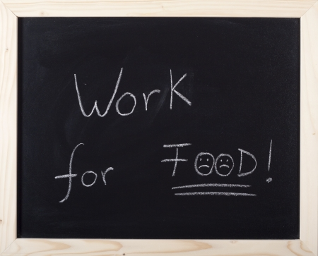 alimentary: work for food