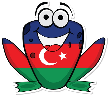 azerbaijan: Azerbaijan frog
