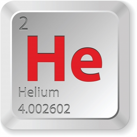 the periodic table: helium button