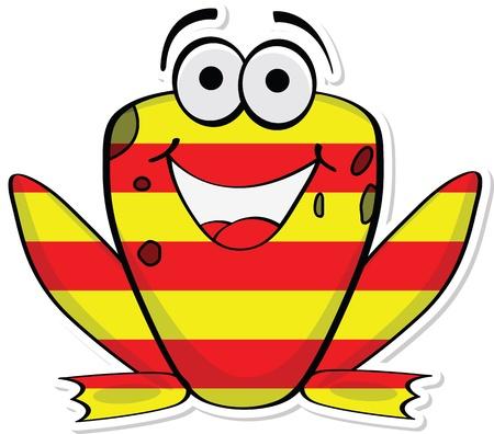 catalonia: frog of catalonia