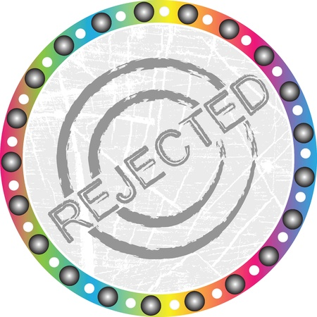 rejected stamp Stock Vector - 15118859