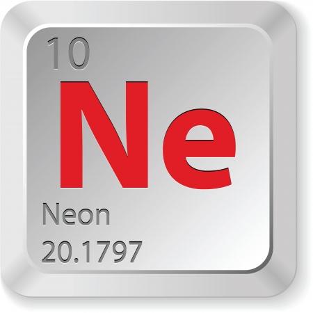 periodic: neon - keyboard button