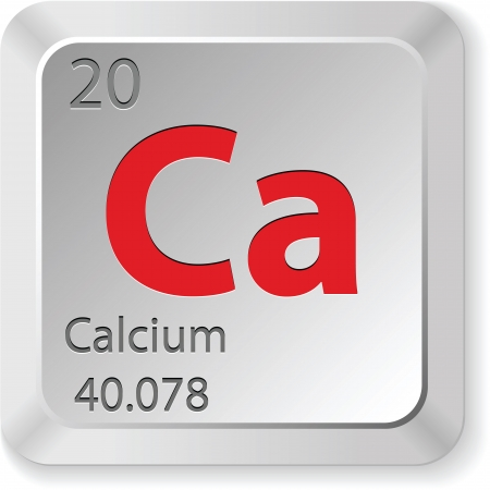 calcium element Illustration