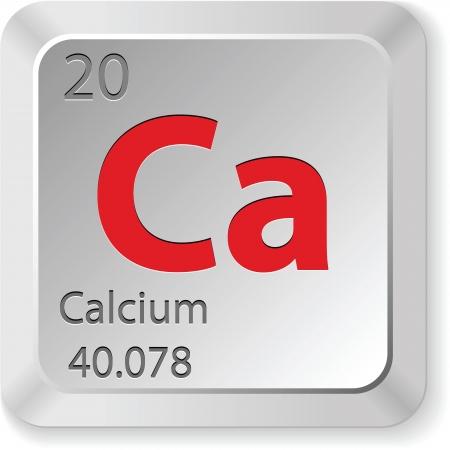 calcium: calcium element Illustration