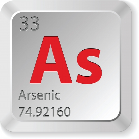 arsenic element Vector