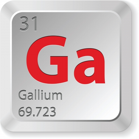 gallium element Vector