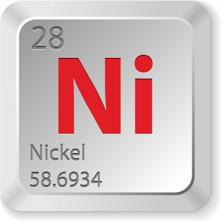 mendeleev: nickel element