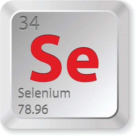 the periodic table: selenium element