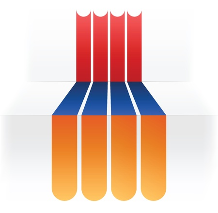 flag of Armenia Stock Vector - 16839160