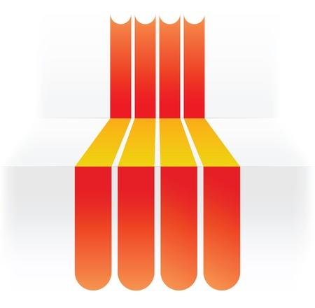 flag of Spain Stock Vector - 16839129