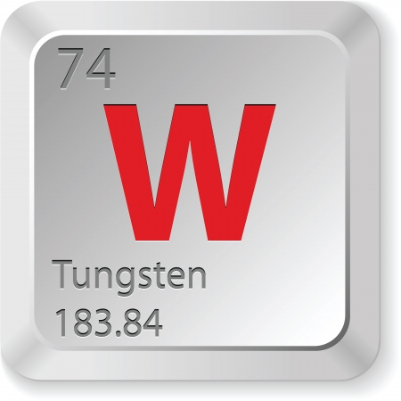 tungsten: tungsten element