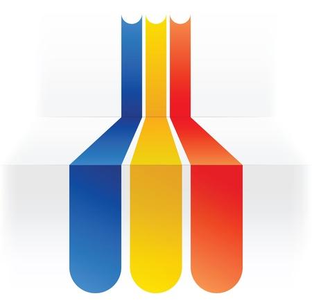 flag of rommania Stock Vector - 17247300