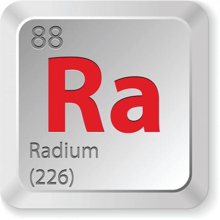 radium element Stock Vector - 17550445