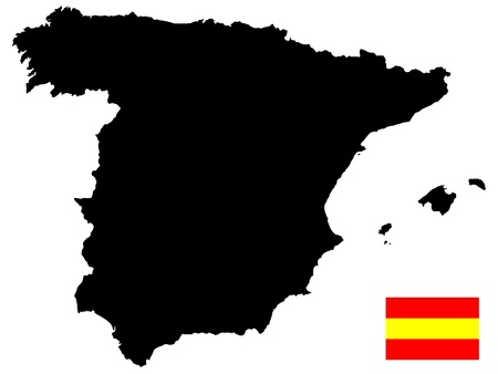 map of spain Stock Vector - 17550439