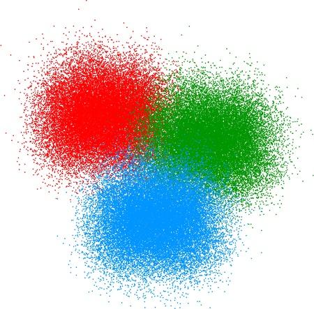 RGB color Vettoriali