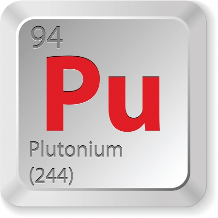 plutonium element Stock Vector - 18004299