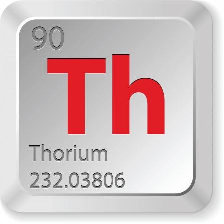 thorium element Vector