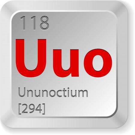 chimic element ununoctium