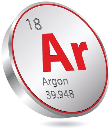 argon element Stock Vector - 19873455