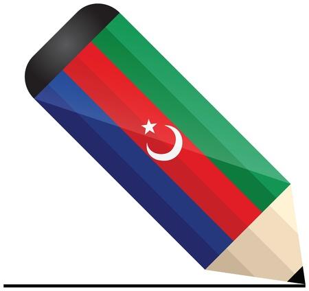 poet: Azerbaijani pencil