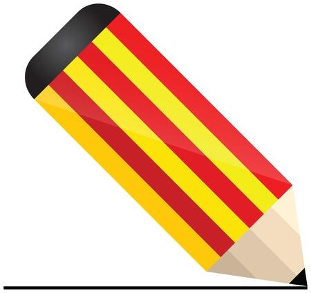 catalonian: catalonia pencil