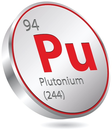 plutonium element Stock Vector - 21156418