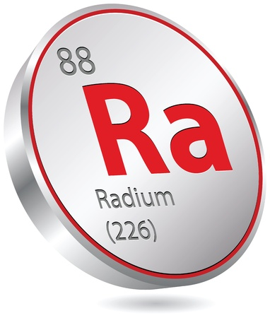 radium element Stock Vector - 21158821