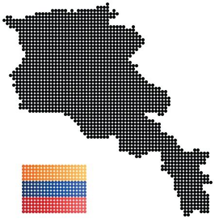 armenian: Armenia map