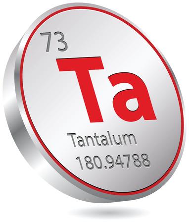 tantalum element Stock Vector - 23167211