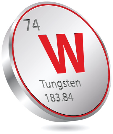 tungsten element Vector