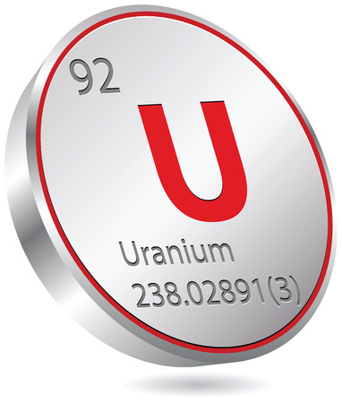 uranium element Stock Vector - 23167242